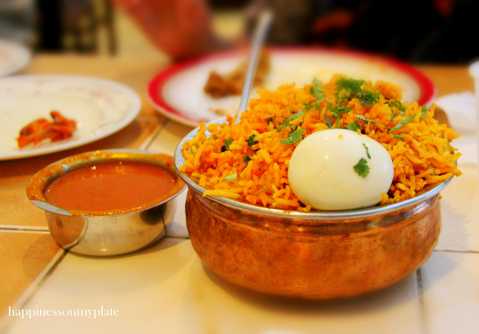 Karachi darbar happiness on my plate chicken dum biryani omr 1400 forumfinder Image collections